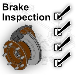 Class A RV Full Brake Inspection