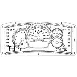 105298R - Workhorse Actia Instrument Cluster Repair Service