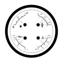104561RQ - Actia Quad Gauge Instrument Cluster Repair Service