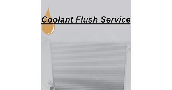 Coolant Flush Service