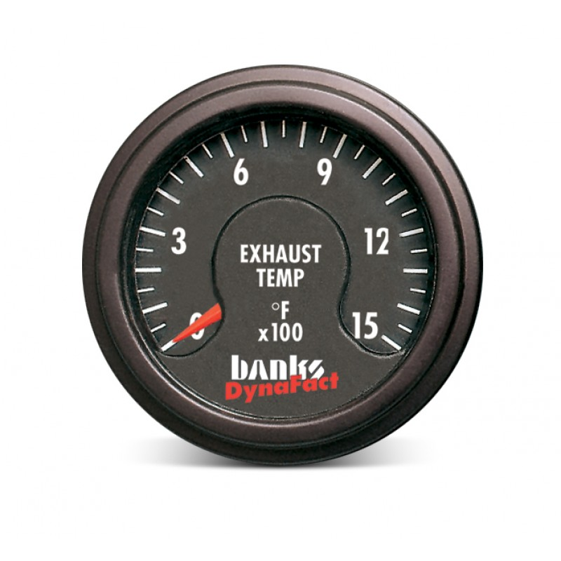 Diesel Exhaust Fluid >> 64009 - Banks Power Exhaust Gas Temperature Gauge Kit For Diesel Pushers