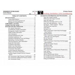 2007 Workhorse W-Series HVAC Service Manual Download