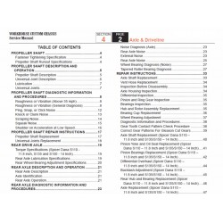 2007-2008 Workhorse R26 UFO Axle & Driveline Service Manual Download