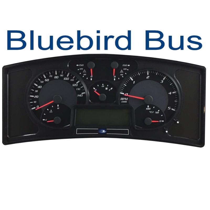 Bluebird Actia Instrument Full Cluster Repair